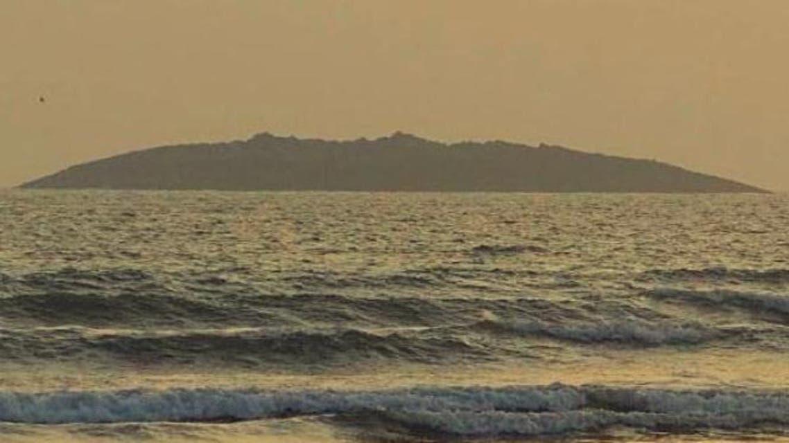 جزيرة ظهرت في بحر العرب بعد زلزال في باكستان