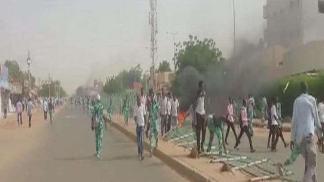 THUMBNAIL_ Protests against government storm Sudan streets