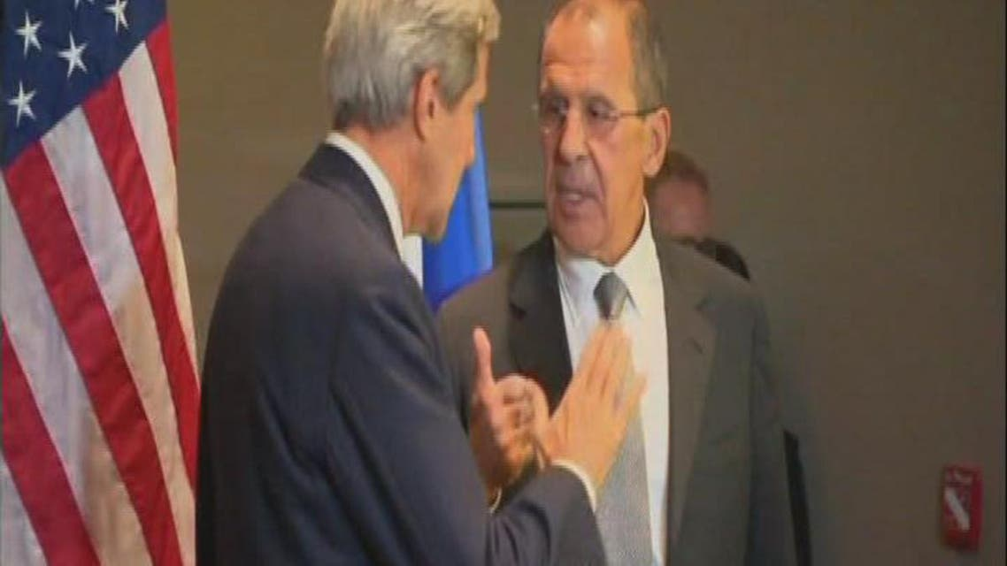 THUMBNAIL_ كيري ولافروف يعملان على قرار في مجلس الأمن حول سوريا