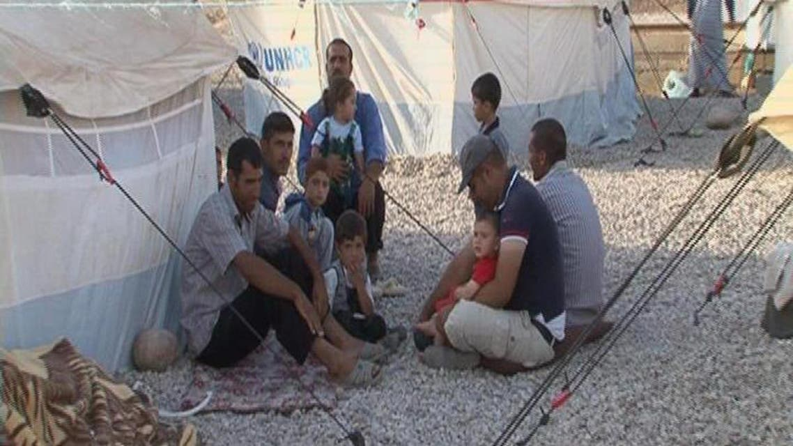 THUMBNAIL_ مخيم بحيركا يؤوي لاجئين قدموا من المناطق الكردية في سوريا