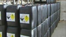 معظم أسلحة كيمياوي سوريا يمكن تدميرها في الخارج