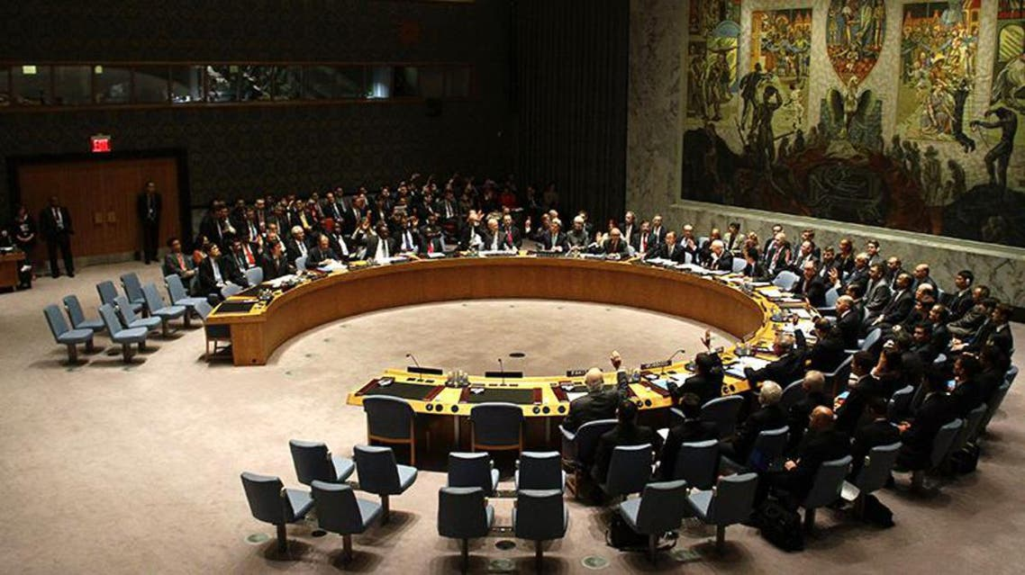 تصويت مجلس الأمن حول سوريا