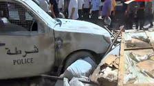 بائع متجول في تونس يضرم النار في سيارة للشرطة