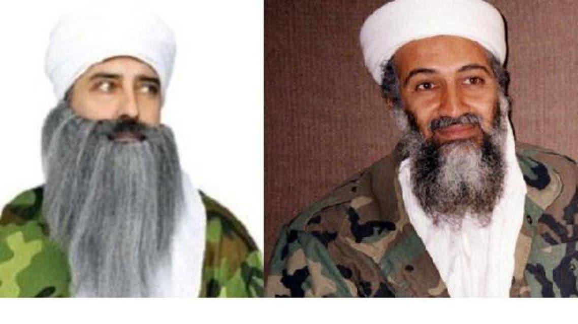 The Halloween costume, (L), has come under attack for its resemblance to Osama Bin Laden. (Photo courtesy: Sikh Coalition)