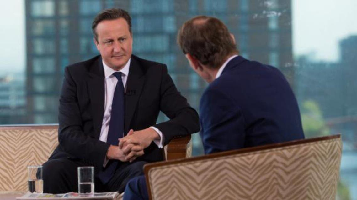 David Cameron told the BBC he did not support a ban on veils in public. (Reuters)