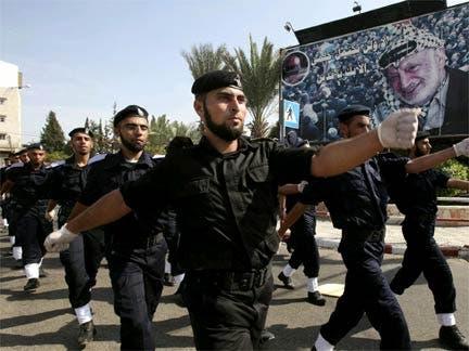 عناصر أمن تابعة لحماس في غزة