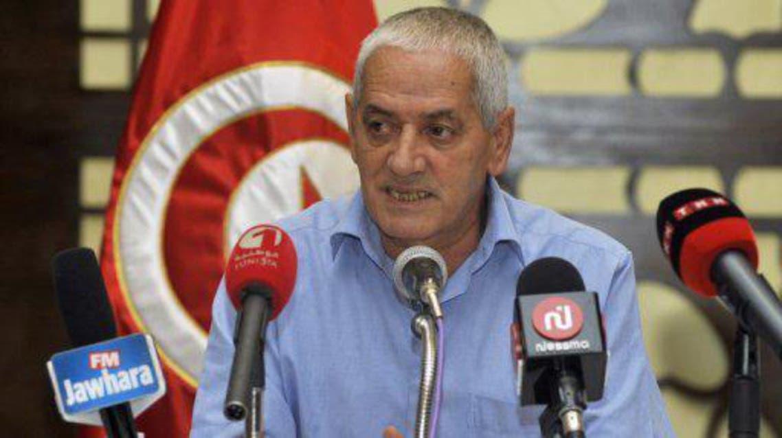 حسين عباسي امين عام الاتحاد العام التونسي للشغل