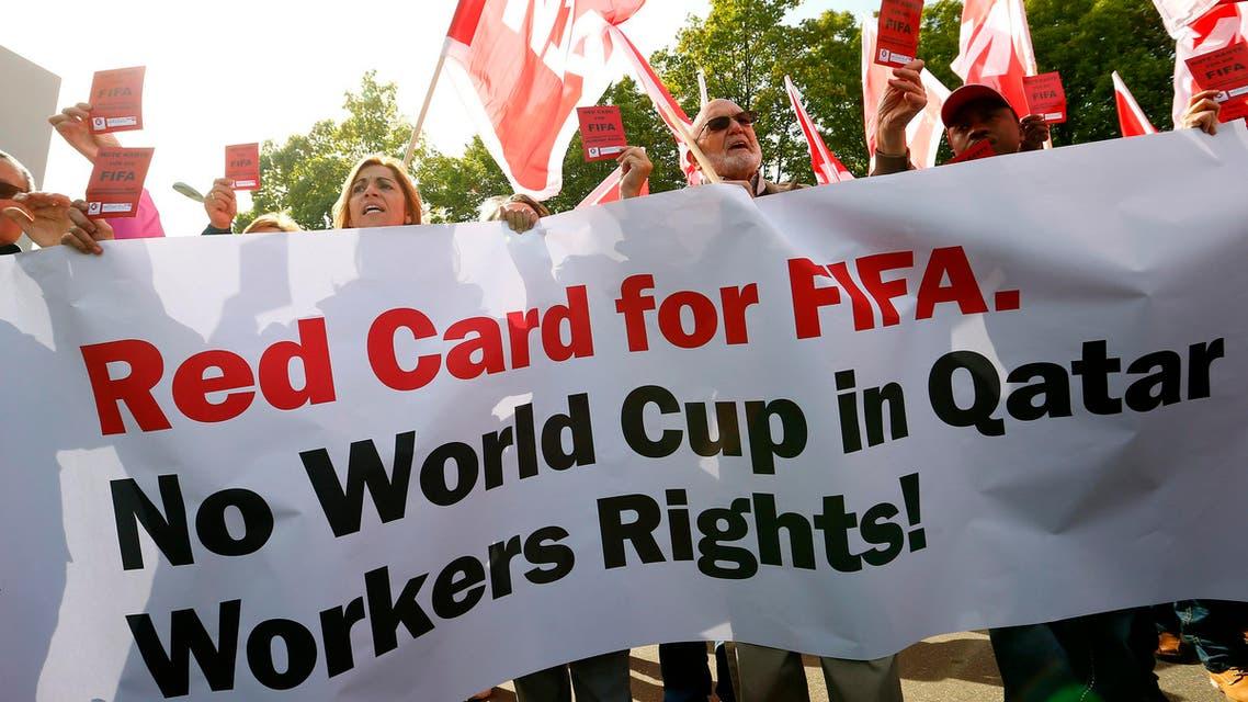 Qatar trade Unions (Reuters)