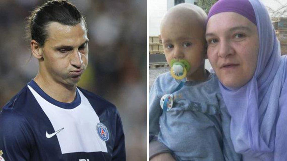 الطفل البوسني مصاب بالسرطان منذ عام 2007