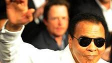 Mohammad Ali honors humanitarian award winners