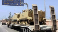 Attack on Egypt army convoy kills 2 soldiers