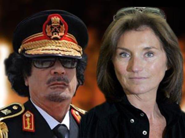 """طليقة ساركوزي: حذرت القذافي.. وقلت له """"لا تلمسني"""""""