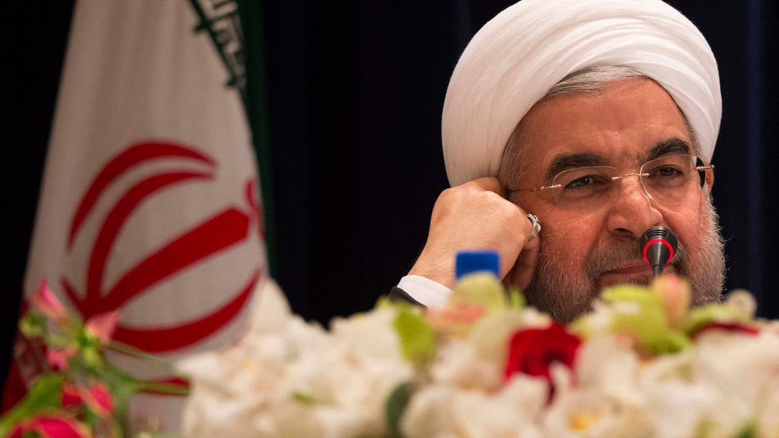 Iran's President Hassan Rouhani takes questions from journalists during a news conference in New York September 27, 2013. (Reuters)