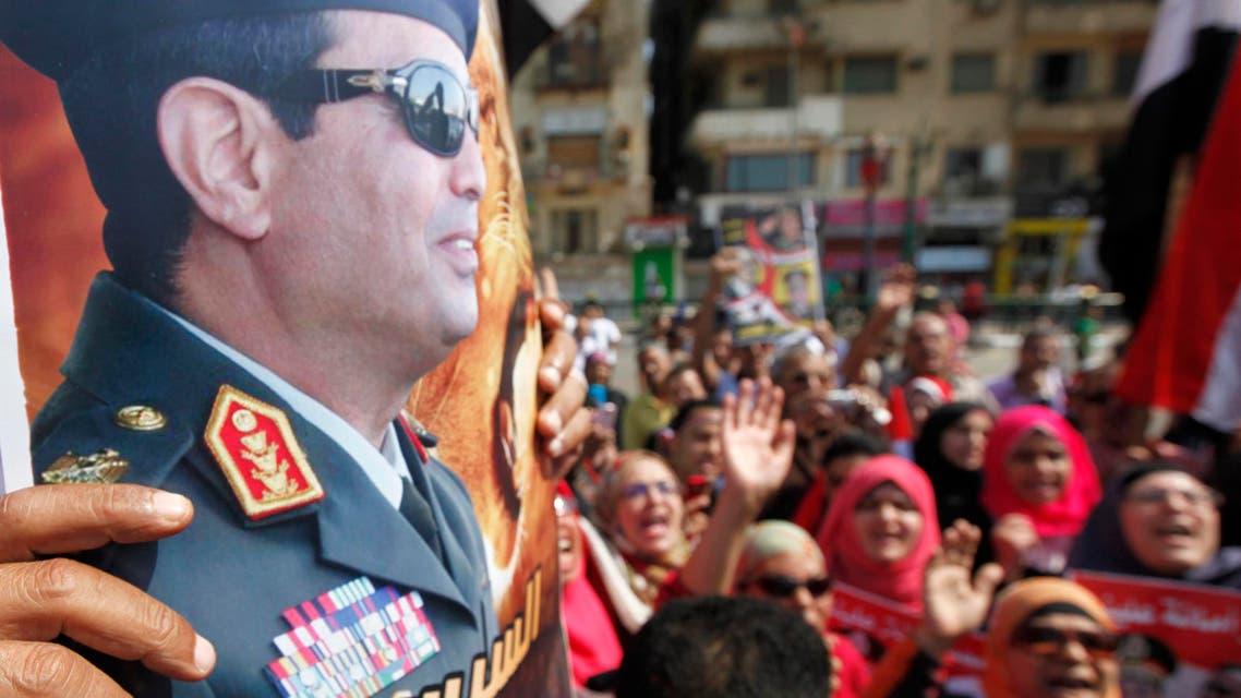 Egyptians mark Mideast war anniversary
