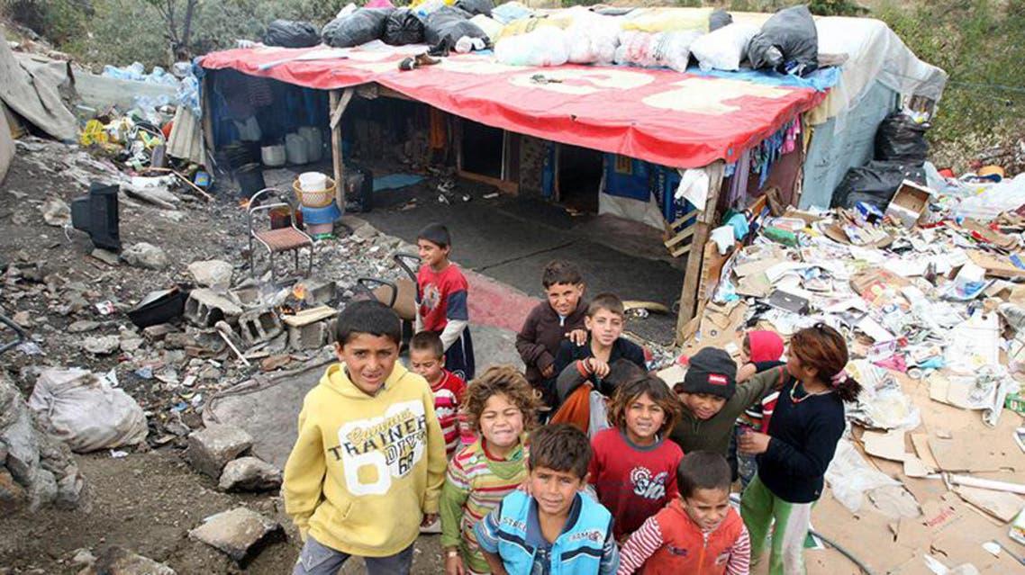 لاجئون من سوريا في انقرة في تركيا
