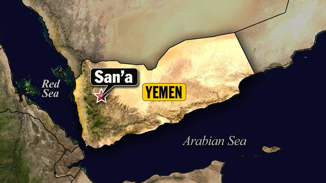yemen map sanaa AP