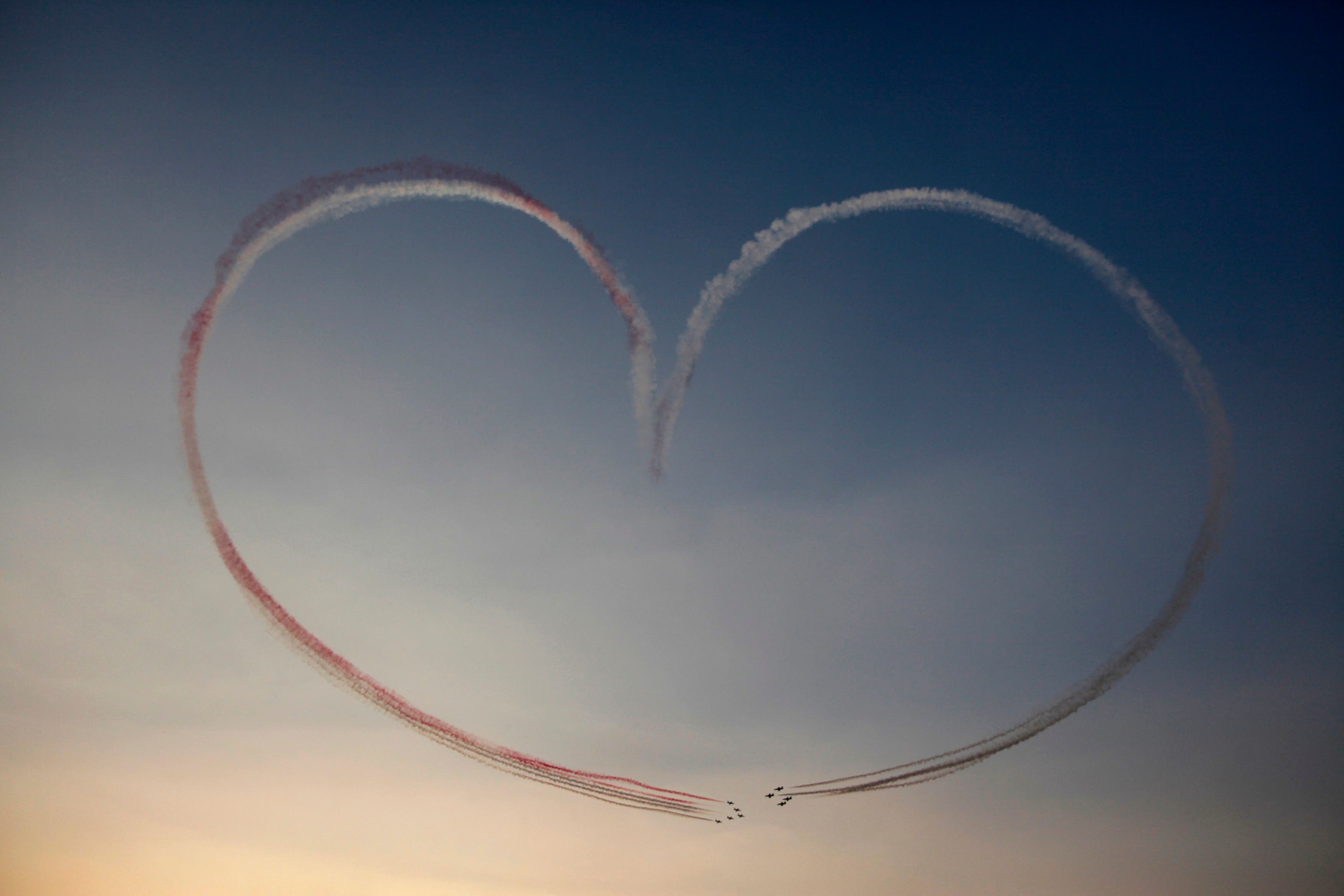 Military aircraft participate in flying display over Tahrir Square as Egypt celebrates the anniversary of an attack on Israeli forces during the 1973 war, in Cairo October 6, 2013. (Reuters)