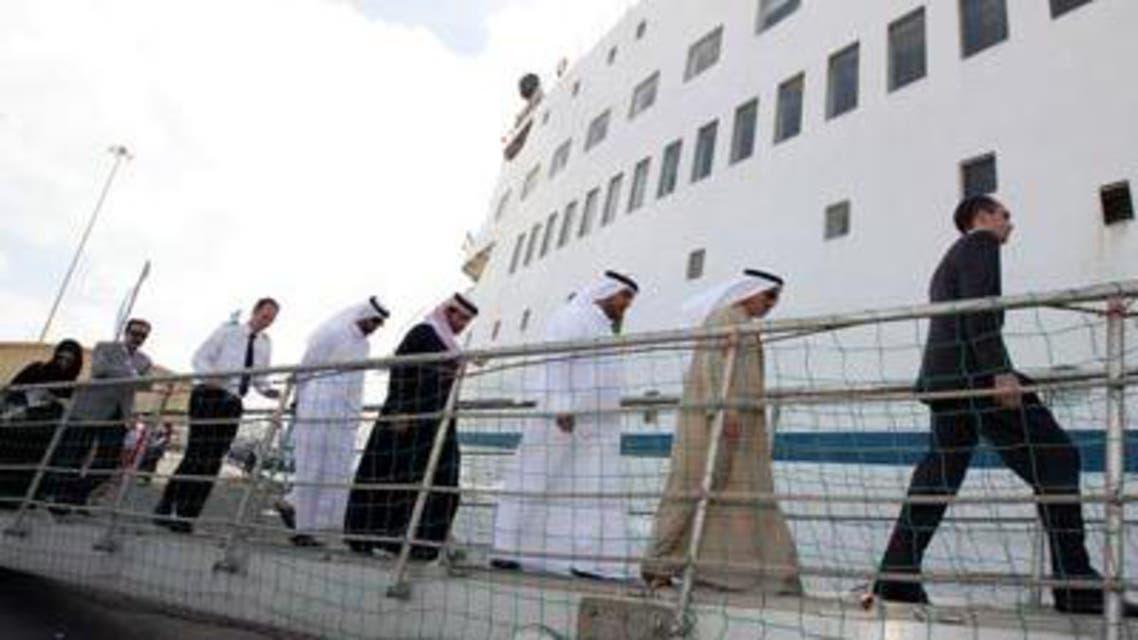 مشروع تطوير المحطة السياحية الجديدة في ميناء زايد