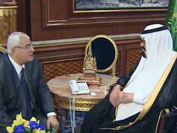 قمة سعودية مصرية في أول زيارة خارجية للرئيس المصري