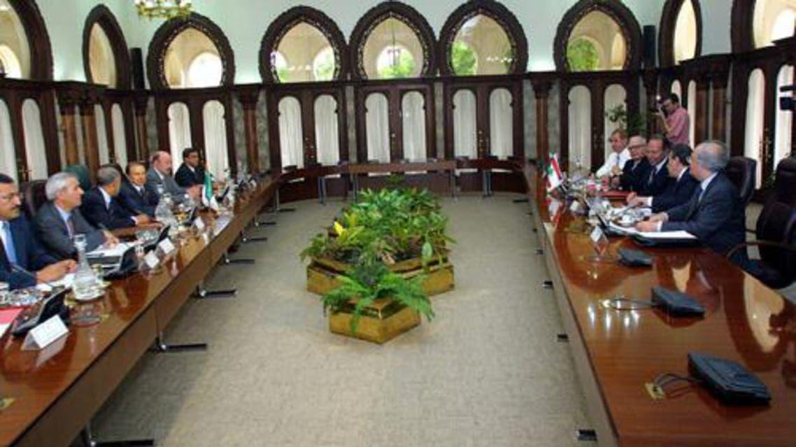 مجلس الوزراء الجزائري