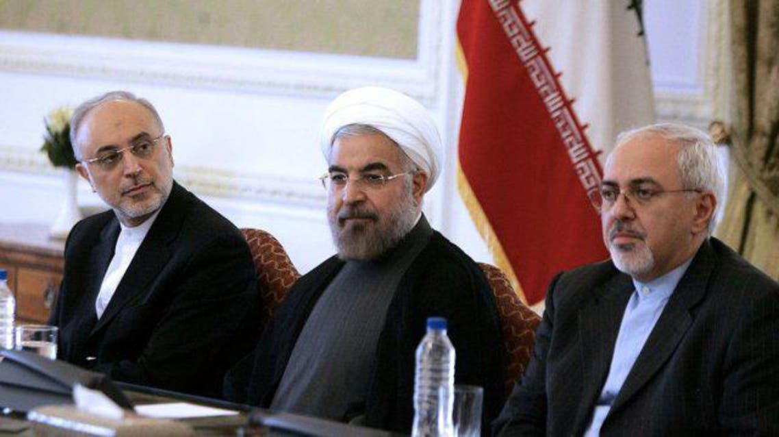Mohammed Javad Zarif  Hassan Rouhani AFP
