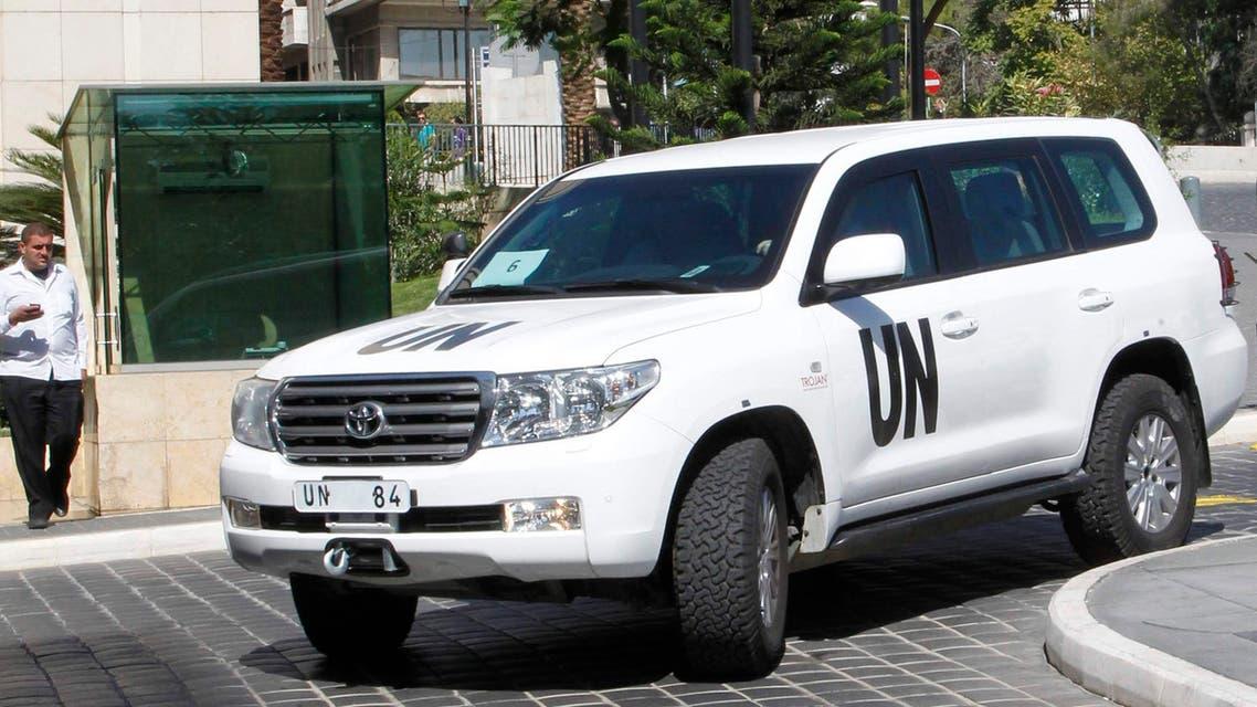 مفتشو الامم المتحدة