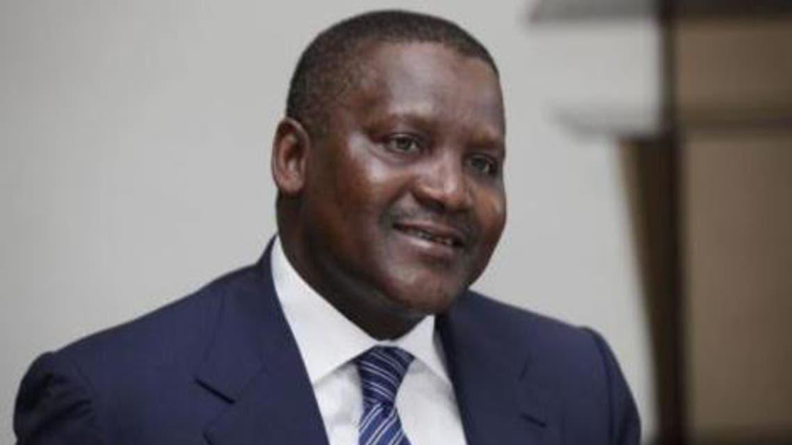 Nigerian businessman Aliko Dangote was identified as the richest African worth $20.2 billion. (Reuters)