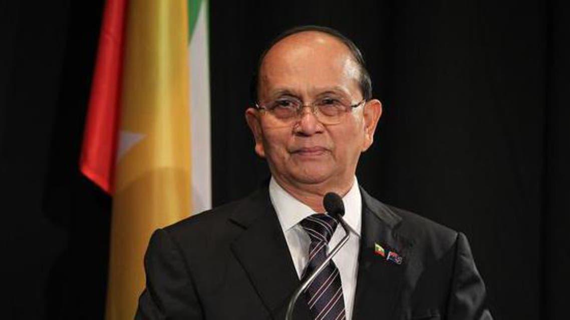 رئيس ميانمار ثين سين