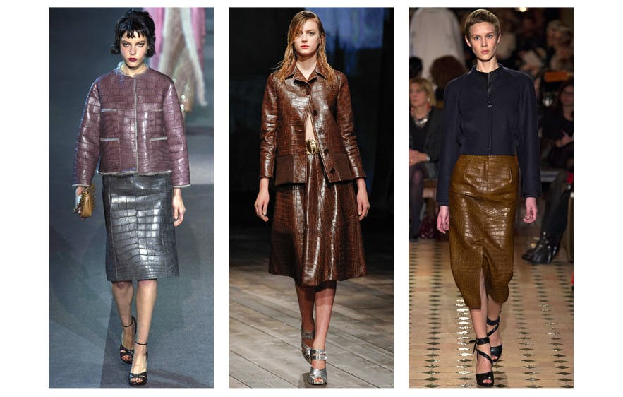 A new you at work: The Leather Look. (Image provided)