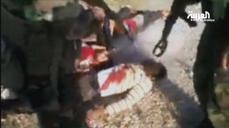 Video shows Hezbollah fighters executing wounded Syrian
