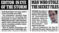 The Guardian at center of media storm over Snowden leaks