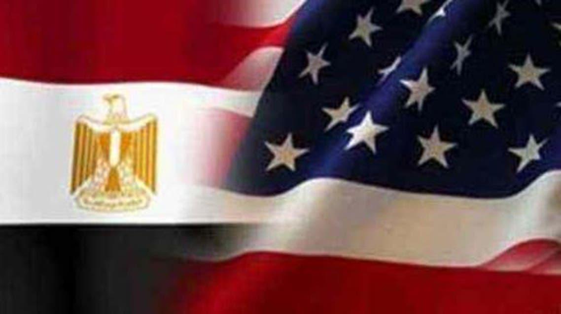 usa and egypt flag