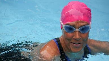 سباحة أميركية تخاطر بحياتها من أجل ضحايا إعصار ساندي