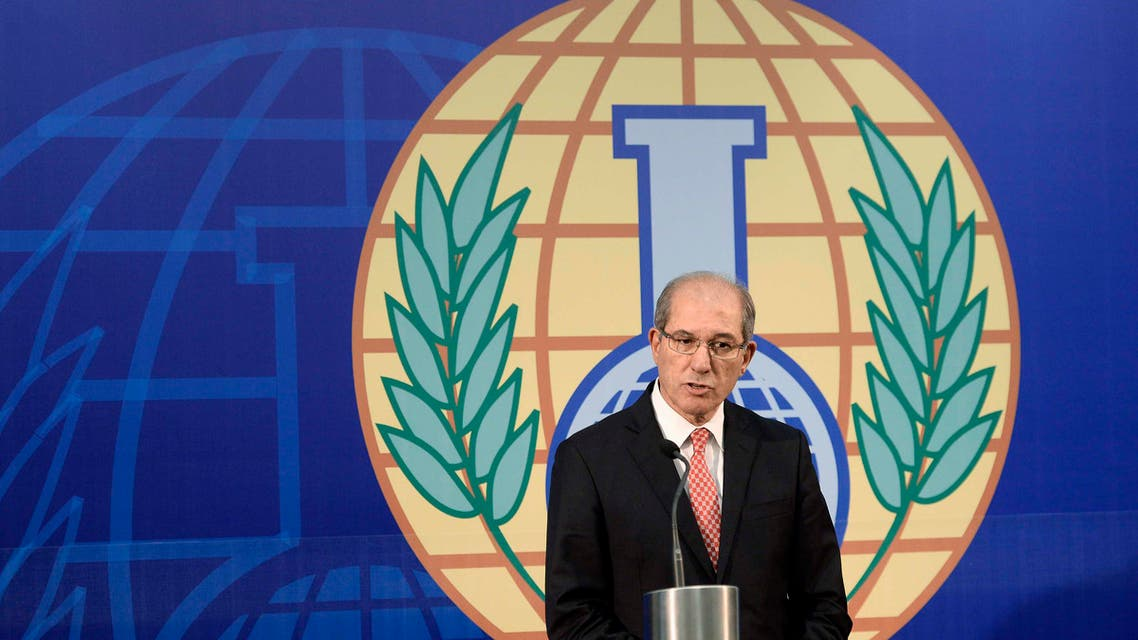 Organisation for the Prohibition of Chemical Weapons (OPCW) Director General Ahmet Uzumcu speaks during a news conference in The Hague, October 9, 2013. Reuters