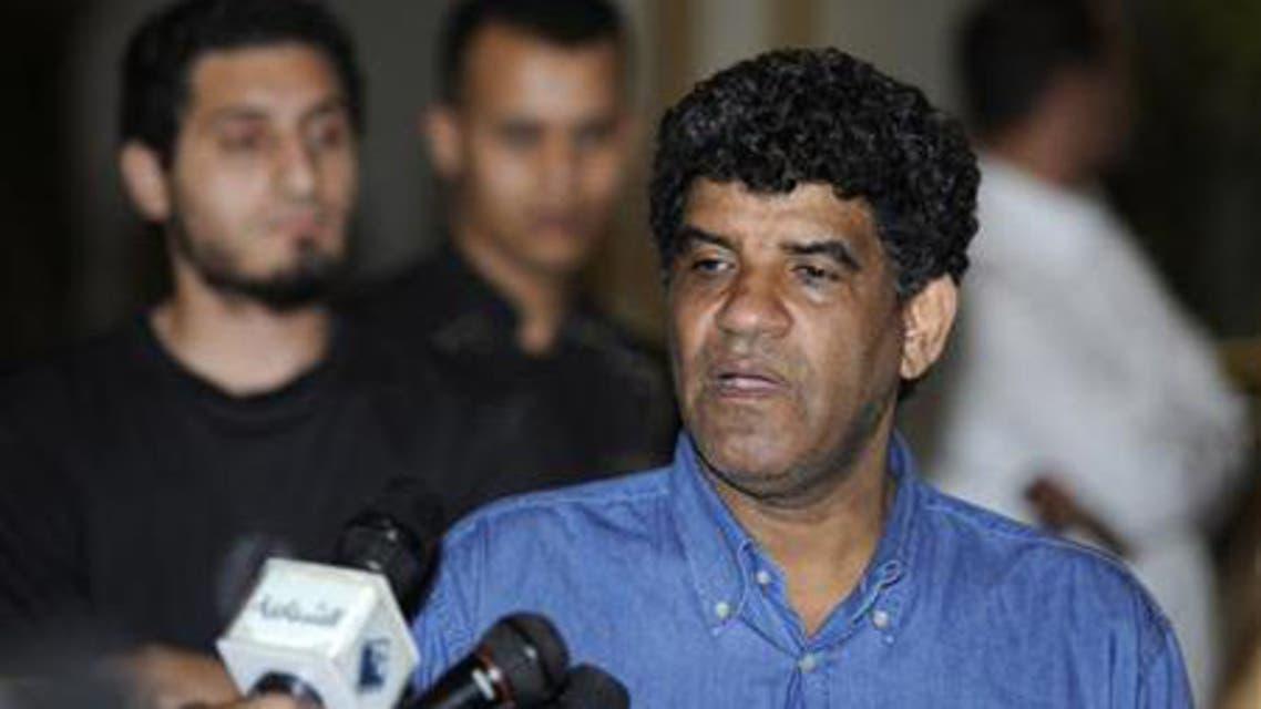 Abdullah Al-Senussi, ex-head of the Libyan Intelligence Service speaks to the media in Tripoli August 21, 2011. (File photo: Reuters)