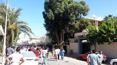هجوم بسيارة مفخخة أمام قنصلية السويد في بنغازي