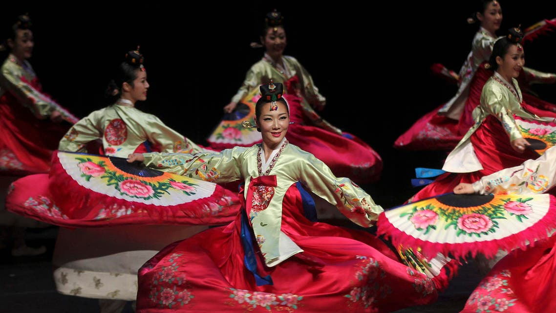 'The Movements of Korea' performed in Jordan