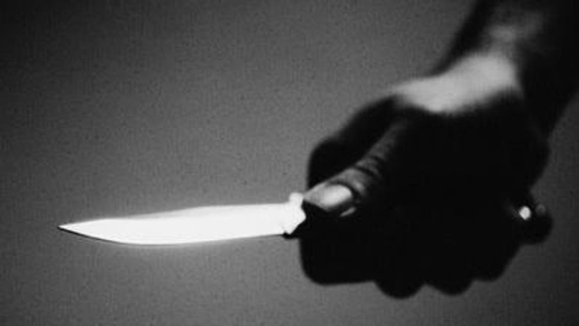 جريمة قتل باستعمال سكين