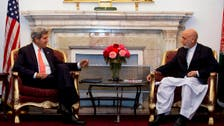 Kerry visits Afghan leader for talks on long-delayed security deal