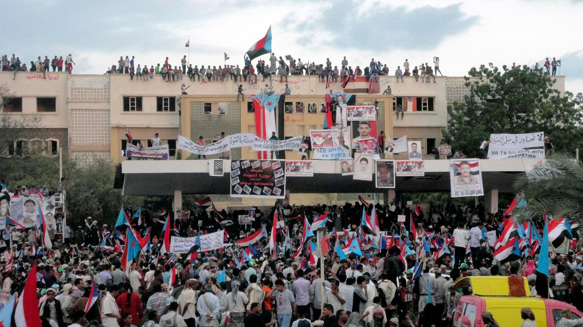 Supporters of Yemen's separatist Southern Movement attend a rally in the southern port city of Aden January 27, 2013.