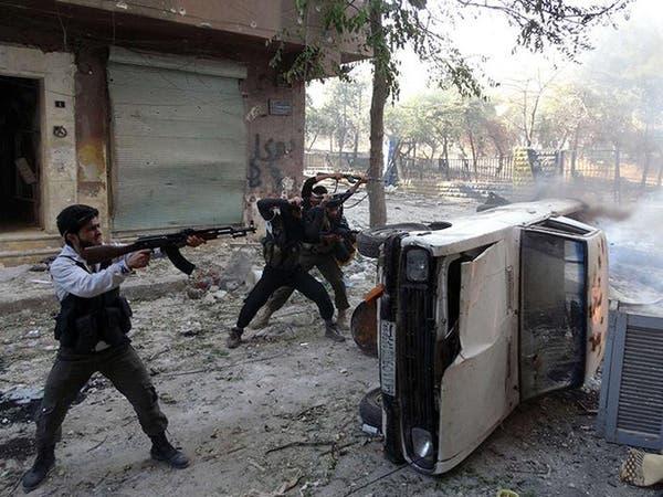 50 قتيلا في معارك طاحنة بين داعش والجيش الحر