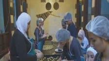 Damascenes unite to make Eid sweets