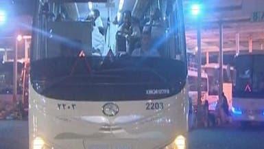 توقيف 63 سائق حافلة نقل حجاج بسبب تعاطيهم مواد محظورة