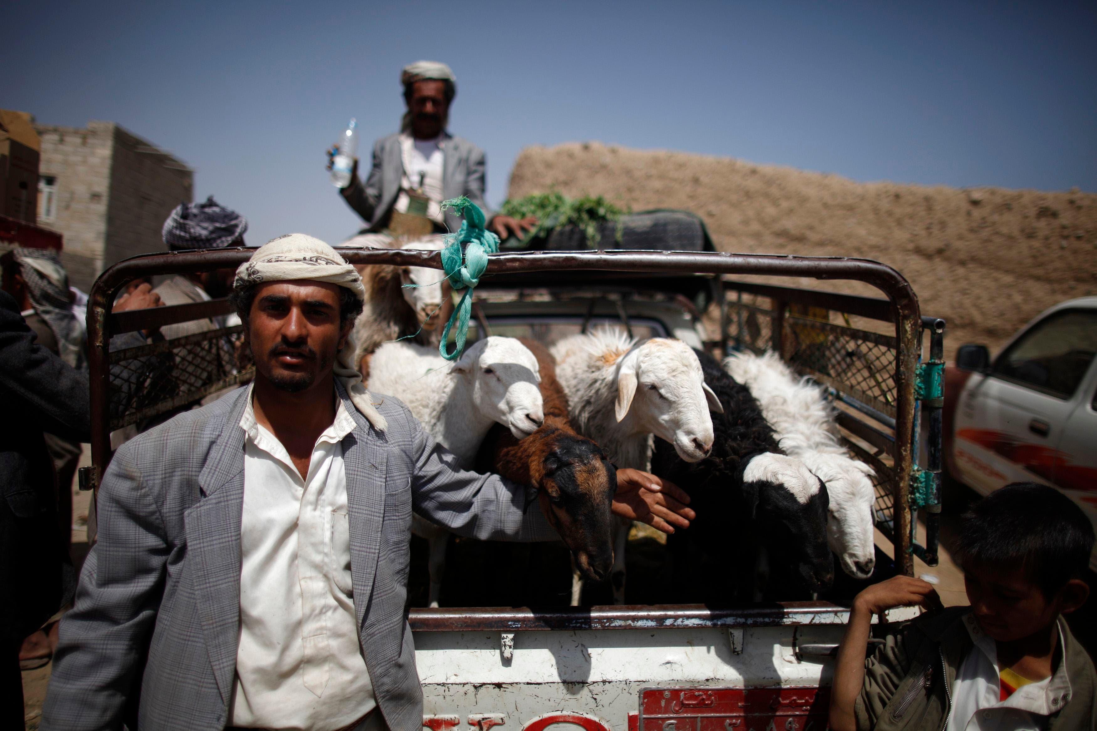 Yemenis prepare for Eid al-Adha
