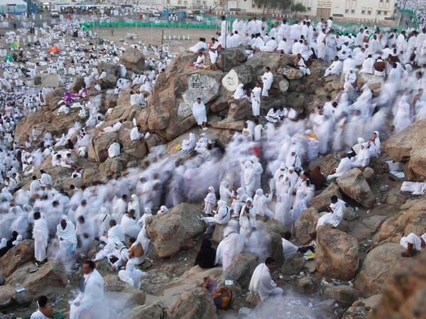 حجاج بيت الله ينفرون من عرفات إلى مشعر مزدلفة