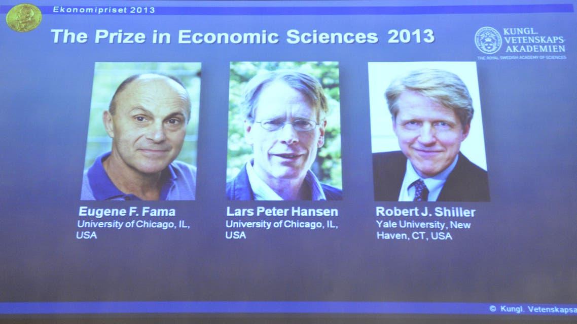 Nobel winners AFP