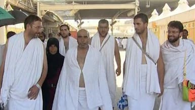 سوريون يؤدون مناسك الحج محملين بأحزان الثورة