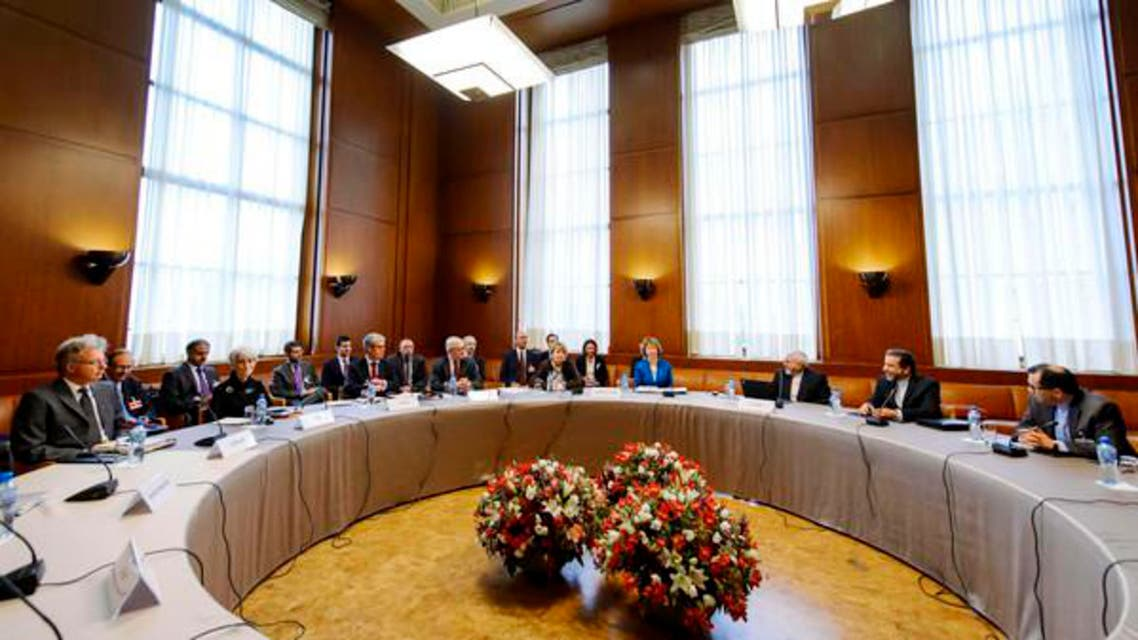 Delegations from Iran and other world powers before the start of nuclear talks in Geneva. (Reuters)