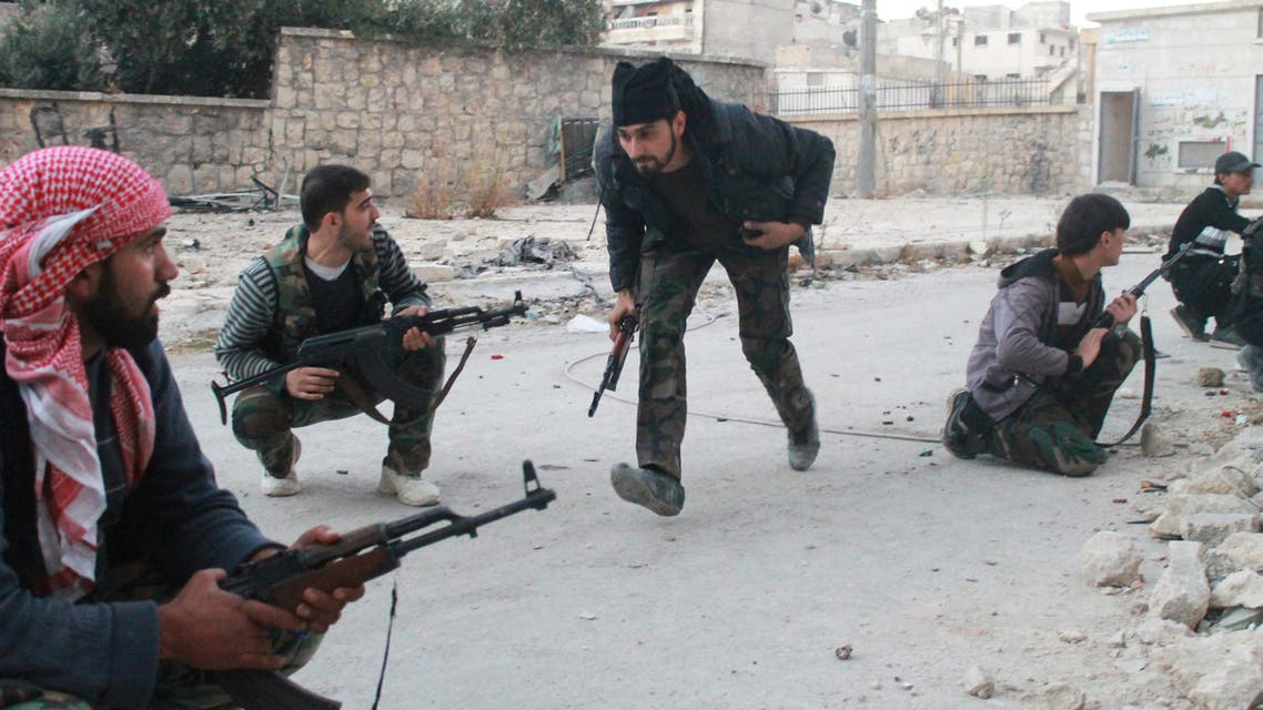 Reuters Syrian rebels
