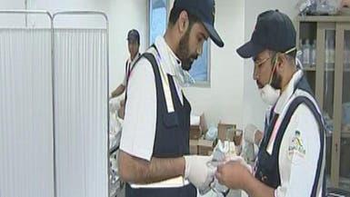 18عيادة طبية معلقة تنقذ 21 حاجاً بعد يوم من الإرهاق